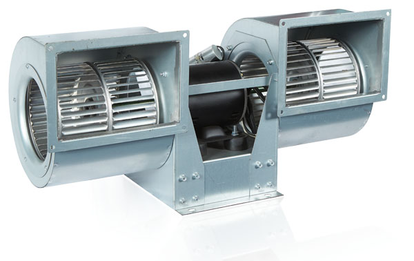 DOUBLE INLET TWIN FANS