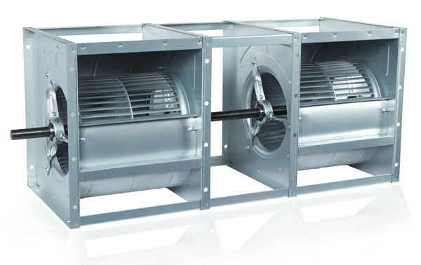 V-BELT DRIVE TWIN TYPE CENTRIFUGAL FANS